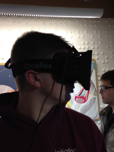 Trying out Virtual Reality