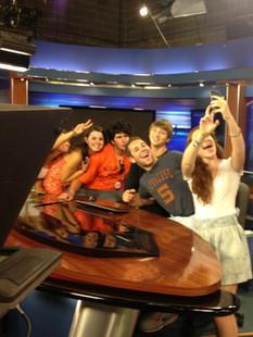 NEXIS cadets take a selfie