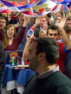 #ElectionClass party on election night 2012