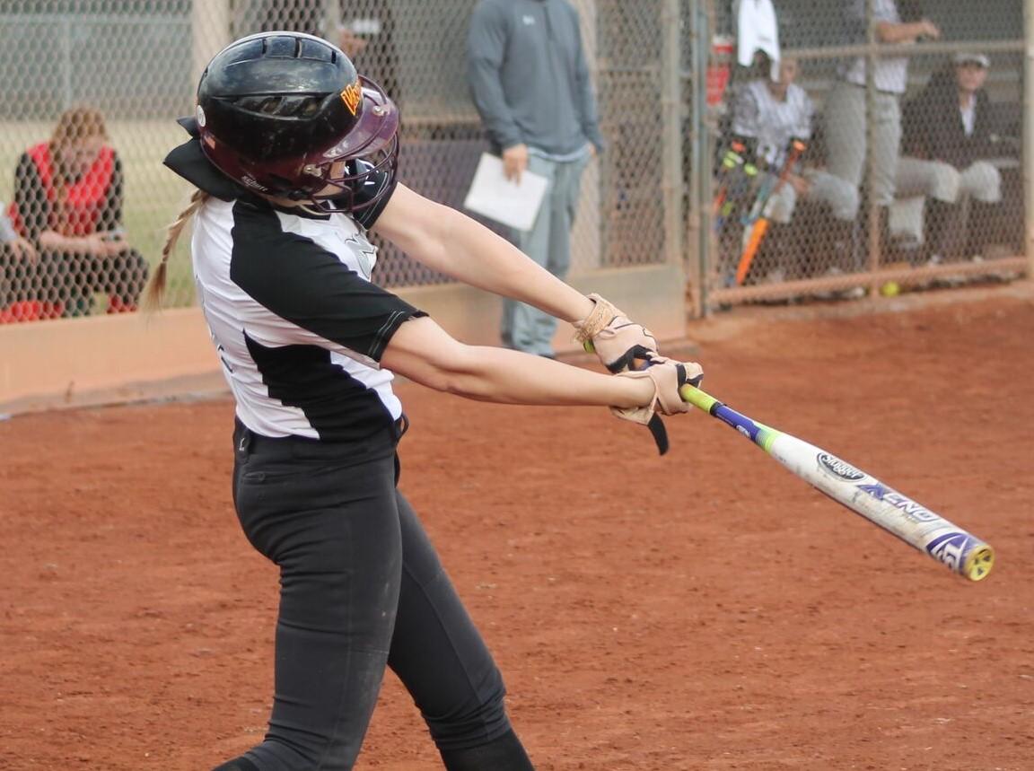 Sarah hitting