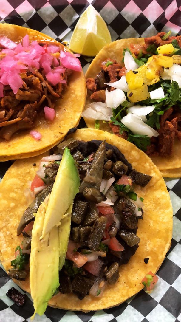 Tacos de Cochinita pibil, Pastor and Cactus