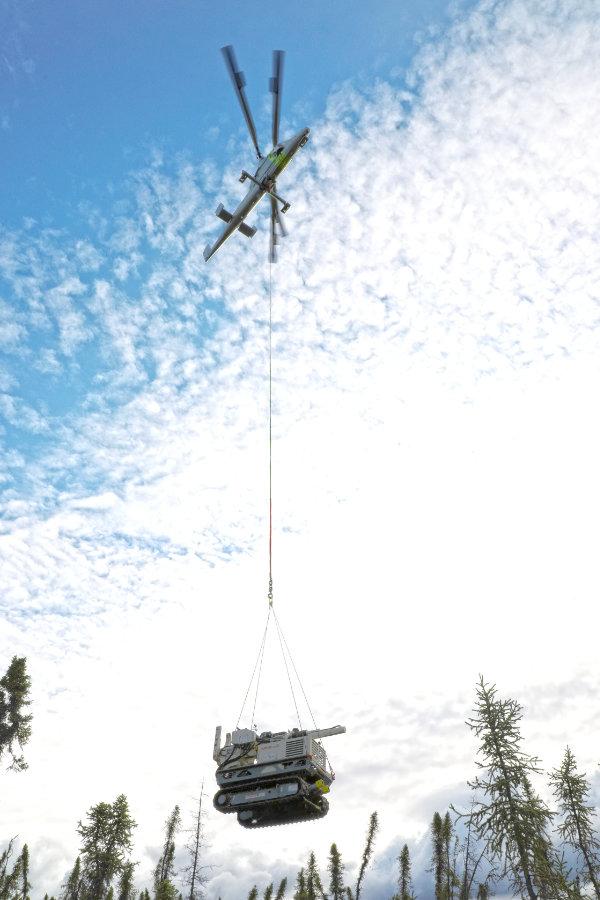 Lifting the Geoprobe