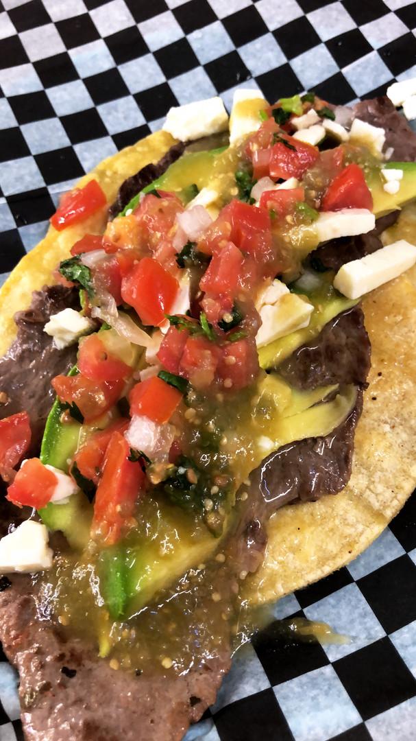 Carne tacos