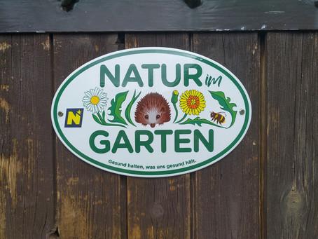 Wir sind: Natur im Garten!