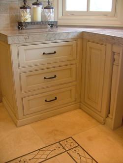 paint_glaze bathroom vanity