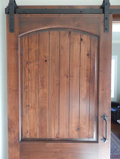 Stained Sliding Door