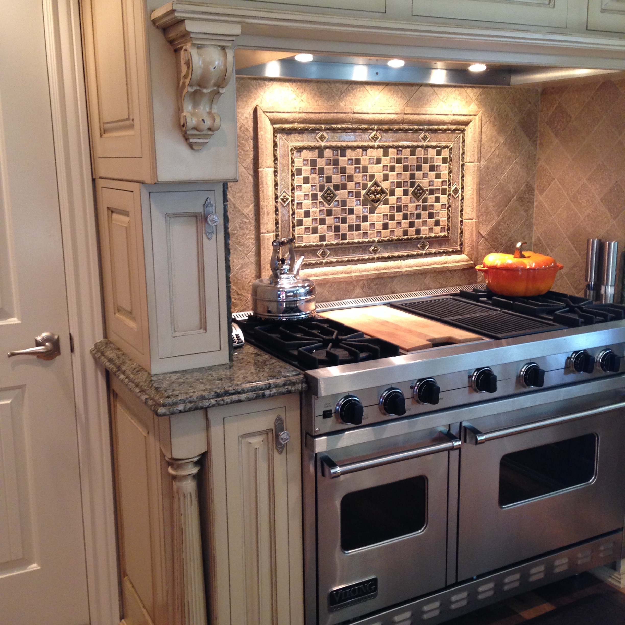 Painted and Glazed Cabinetry