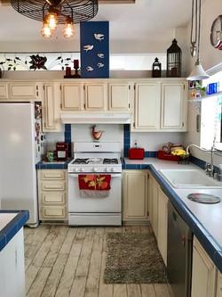 Red White & Blue Kitchen