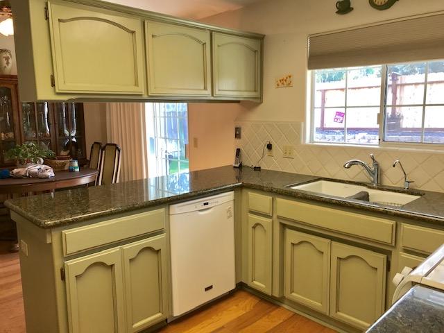 Fresh Green Cabinets