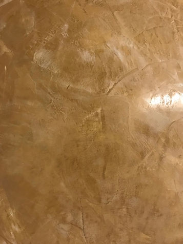 Rich Mango Venetian Plaster