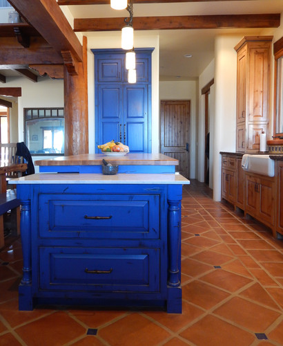 After ~ Cobalt Blue Distressed
