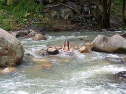 Elessar meditating in Cedar Creek