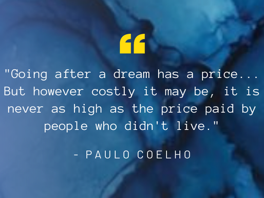 How Much are You Willing to 'Pay' for the Life of Your Dreams??