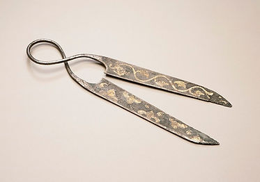 shears from ancient China, circa 700 CE