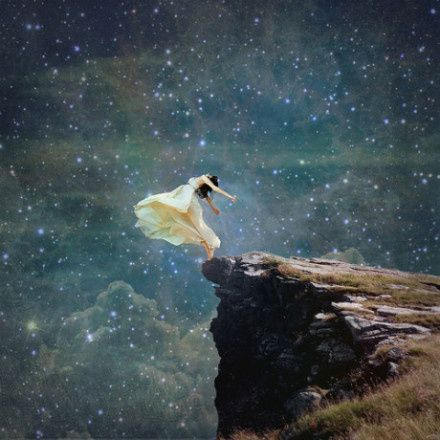 At Ostara, She Who Hesitates is Lost.  So, Commit ...  Do it!  Take the Leap of Faith!