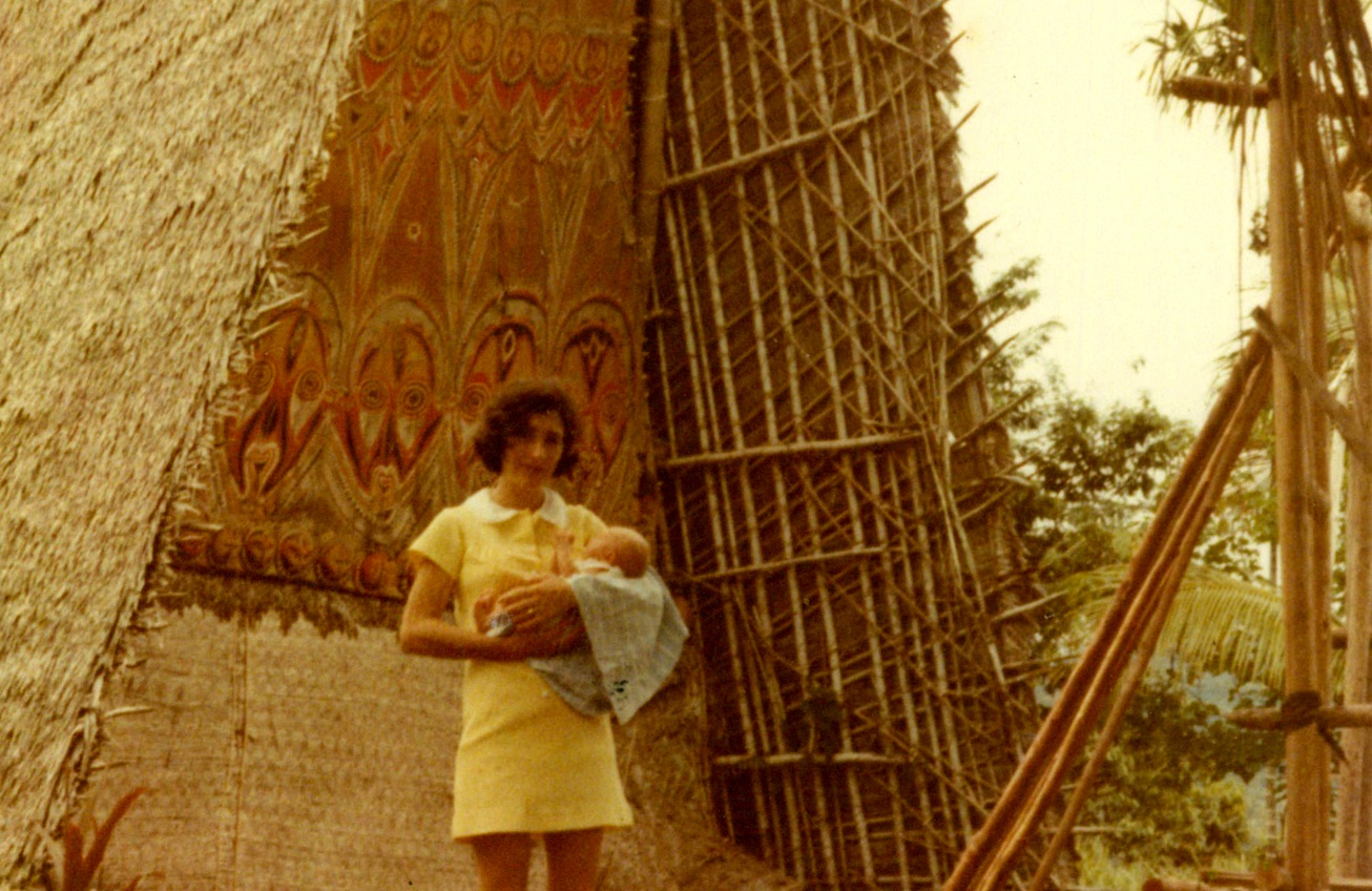 Mum & Juliette PNG 1972