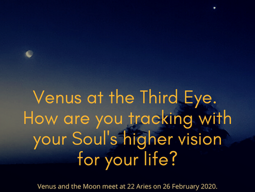Venus enters the 6th Gateway of the Third Eye, 22 Aries