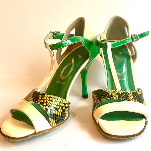 Green Snake & Cream