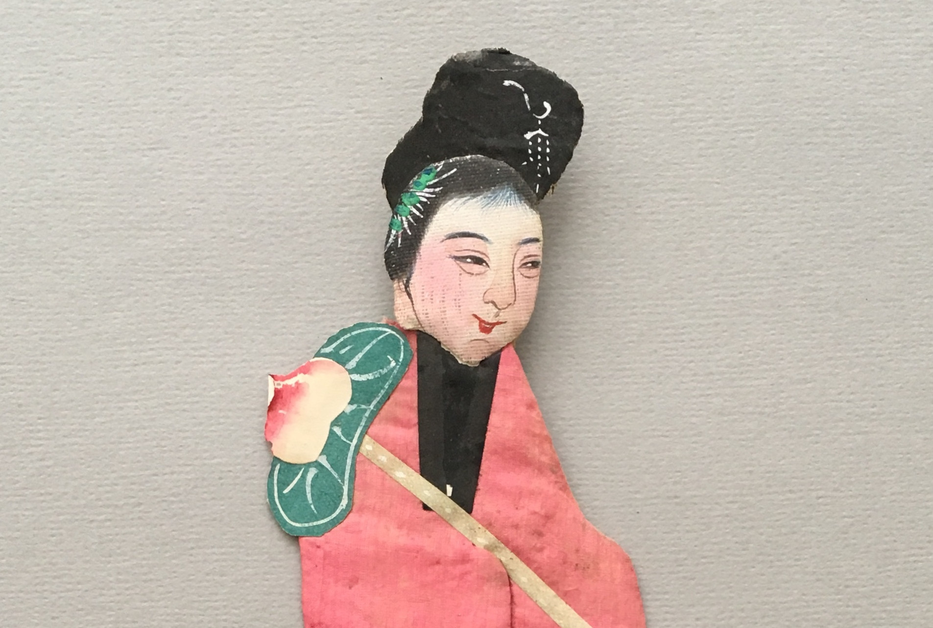 Chinese Paper/Textile Figures