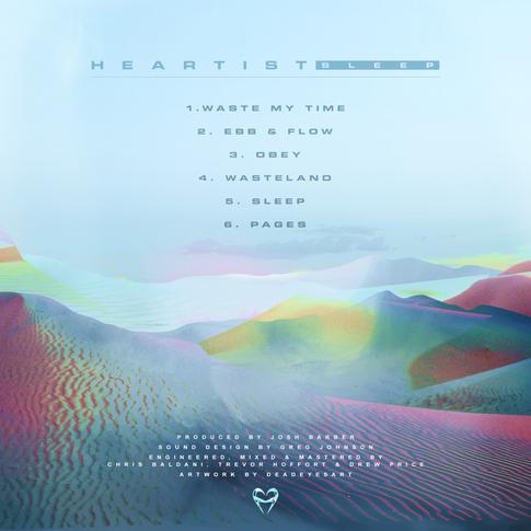 Heartist - Sleep EP - Back