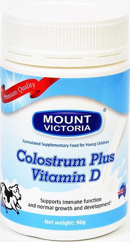 Mount Victoria Super Colostrum plus, Colostrum milk powdwer plus Vitamin D, Super high IgG Colostrum, colostrum supplement, colostrum immune, colostrum benefits, colostrum image