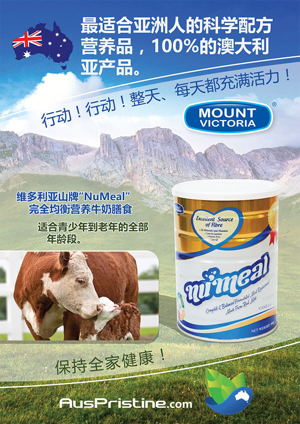 Mount Victoria Numeal Chinese brochure