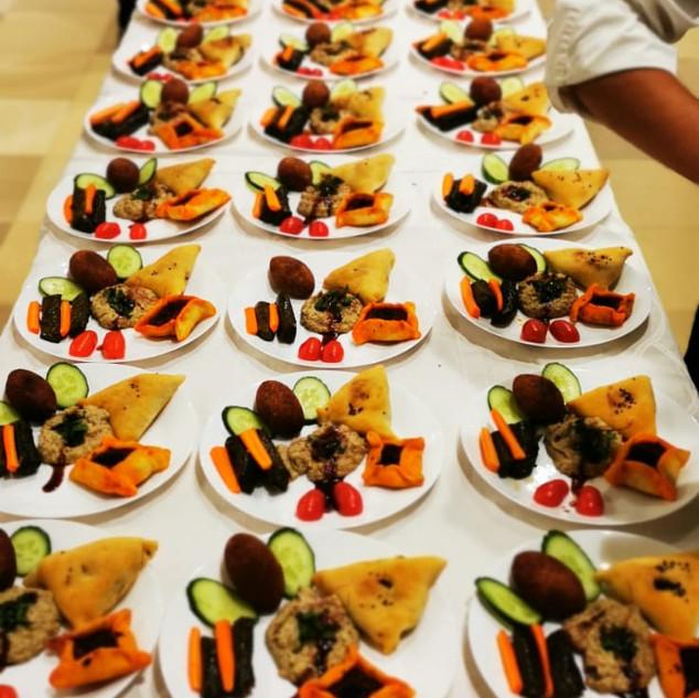 Catering für eine Großveranstaltung