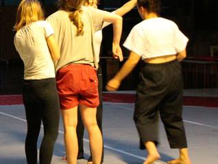 Tanzparcours während der Langen Nacht der Bühnen