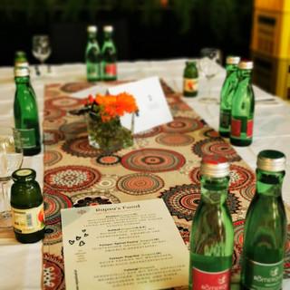 Catering während einer Preisverleihung des Landes OÖ