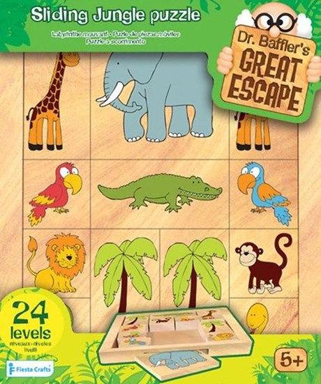 משחק היגיון לילדים ג'ונגל