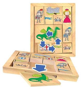 פאזל לילדים - טירה - משחק הגיון