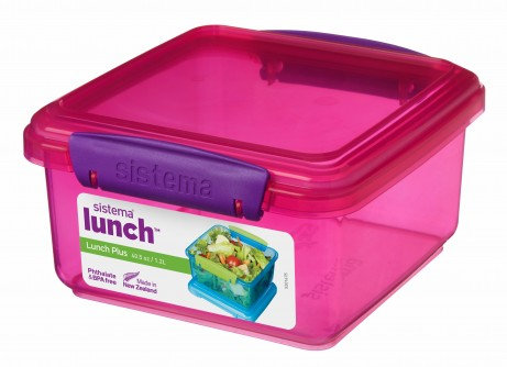 קופסת אוכל  צבעונית של סיסטמה