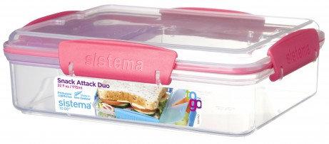 קופסת אוכל לבית הספר ולגן מחולקת לבית SISTEMA
