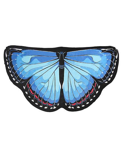 כנפי פרפר כחולות -תחפושת לילדות