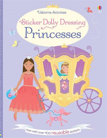 חוברת מדבקות רב פעמיות מלבישים נסיכות