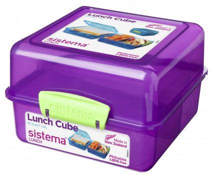 קופסת אוכל דו קומתית של סיסטמה