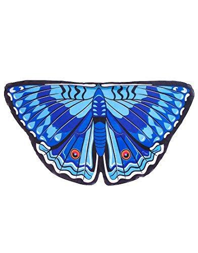תחפושת כנפי פרפר כחולות