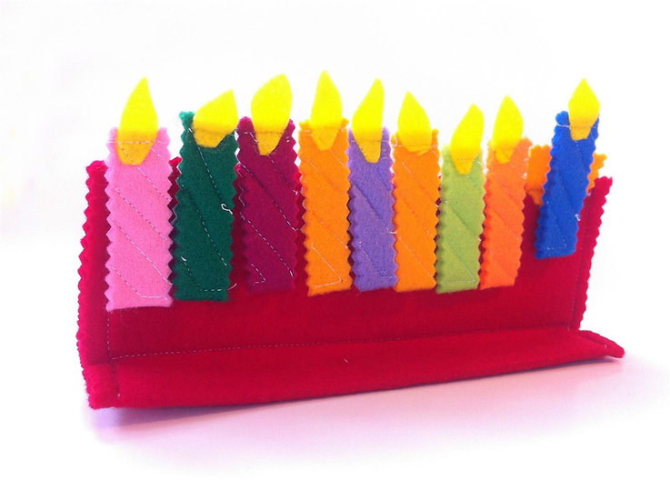 מתנה לחנוכה - חנוכיית משחק לילדים