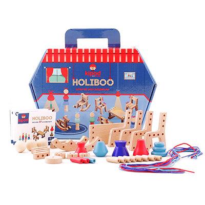 הוליבו - רביטי עץ לבית בובות משחק יצירה והרכבה מעץ לילדים