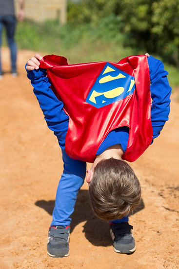 גלימת סופרמן - תחפושת לילדים