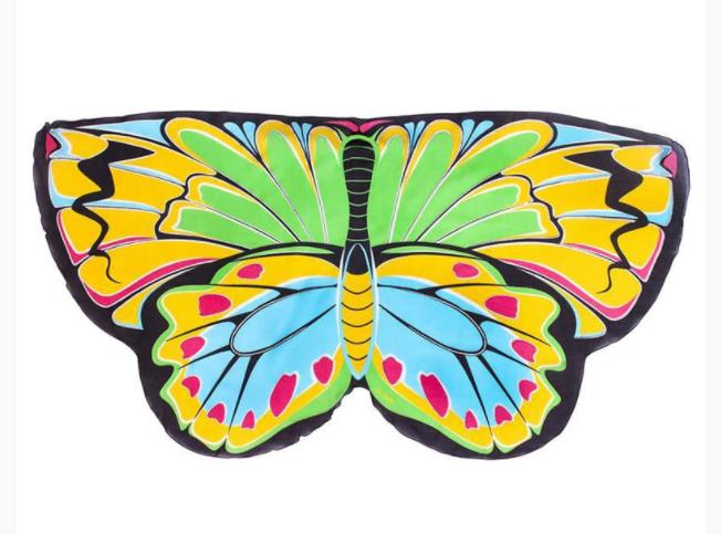 כנפי פרפר צבעוניים לילדים