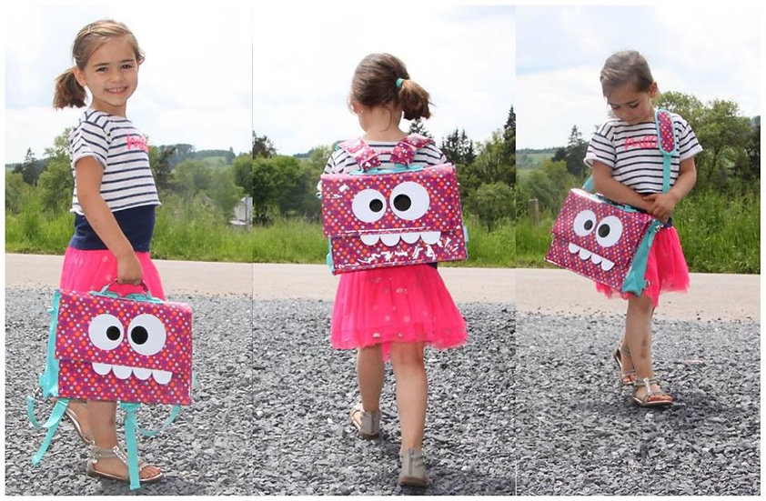 תיק מעוצב לילדים - טראבלבג אפונים