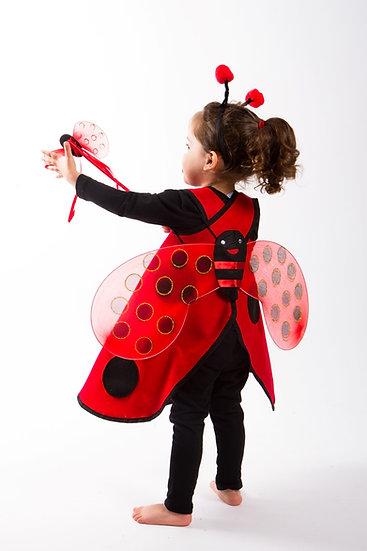 תחפושת - שמלת חיפושית לילדות