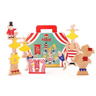 טה דה! משחק צעצוע מעץ לילדים