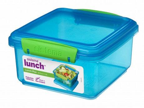 קופסת אוכל  צבעונית - סיסטמה