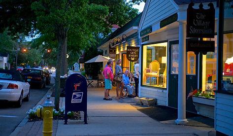 Bellport Village Main Street