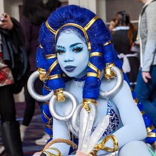 Shiva Wig and Costume