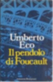 "Book review of Umberto Eco's ""Il Pendolo di Foucault""aka ""Foucault's Pendulum"" (books and films review)"