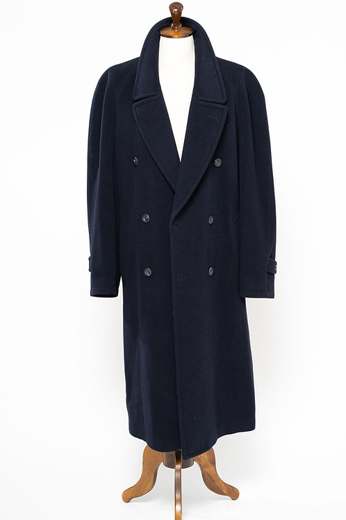 NAVY RAGLAN OVERCOAT