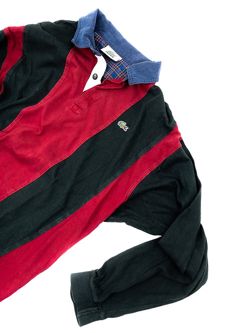 STRIPED LACOSTE RUGBY SHIRT